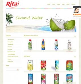 汉鼎外贸推广客户案例——翔达食品饮料有限公司