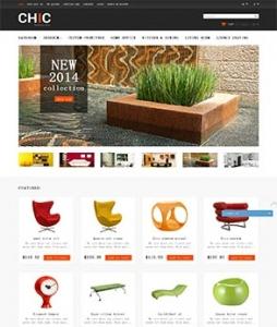 汉鼎外贸推广客户案例——简洁舒适的家具网站设计