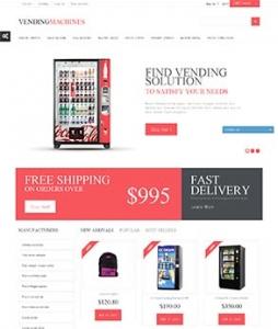 汉鼎外贸推广客户案例——红黑搭配的电器网站设计