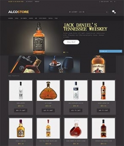 汉鼎外贸推广客户案例——外贸型洋酒网站设计