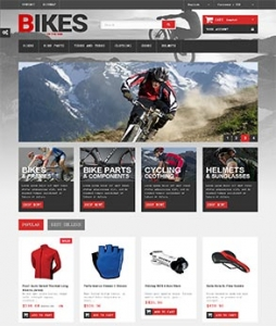 汉鼎外贸推广客户案例——运动装备类网站设计
