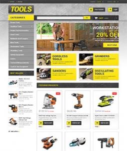 汉鼎外贸推广客户案例——工具产品类网站设计