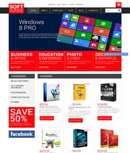汉鼎外贸推广客户案例——红黑搭配的软件网站设计